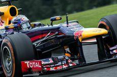 GP Belgia, Vettel Ambil Sesi Latihan Bebas Dua