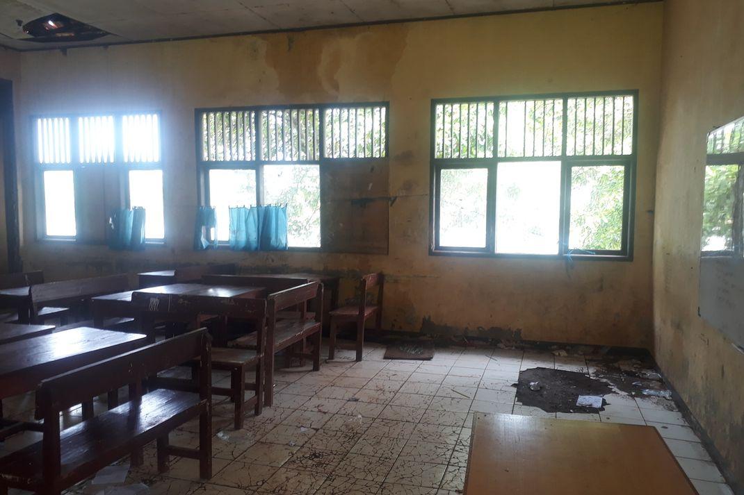 Ini Kondisi SDN Samudrajaya 04 Bekasi yang Siswanya Viral di Media Sosial Minta Sekolah diperbaiki