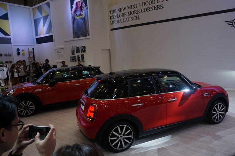 Mini hadirkan New Mini 5 door dan 3 doors terbaru di GIIAS 2018