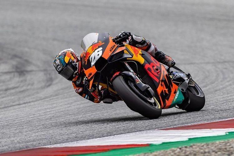 Dani Pedrosa finis di urutan ke-10 pada MotoGP Styria 2021 saat menjadi wildcard