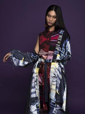 Salah satu koleksi terbaru dari brand fashion lokal, Purana