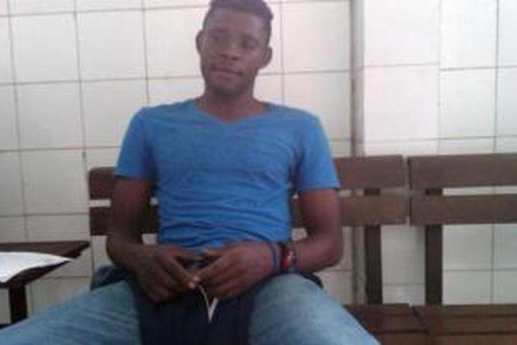 Pesepak bola asal Kamerun, Salomon Begondo.