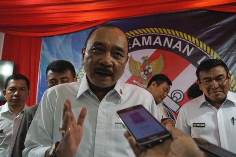 Kepala Bakamla RI Laksamana Madya Ari Soedewo