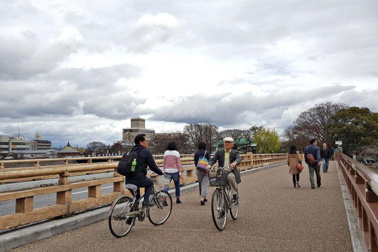 Pesepeda di Jepang
