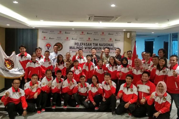 Timnas Wing Chun Indonesia Target 9 Emas di Kejuaraan Dunia Hong Kong