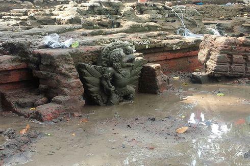 Arkeolog Temukan Tengkorak Manusia dan Saluran Air di Petirtaan Kuno Jombang