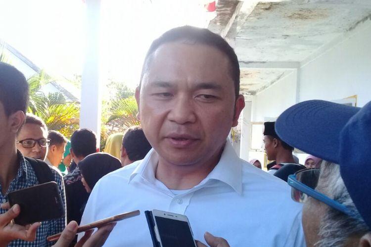 Direktur Utama PT Pelindo III I Gusti Ngurah Ashkara Danadiputra saat ditemui di Bima, NTB pada Minggu (10/9/2017)