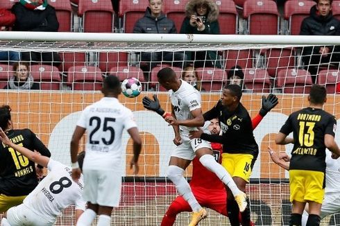 Hasil Bundesliga Augsburg Vs Dortmund, Die Borussen Tumbang