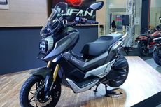 Bahas Detail Skuter Matik China yang Mirip Honda ADV 150