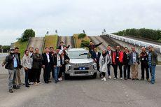 Tes Varian Baru Mitsubishi Xpander Cross Langsung di Jepang