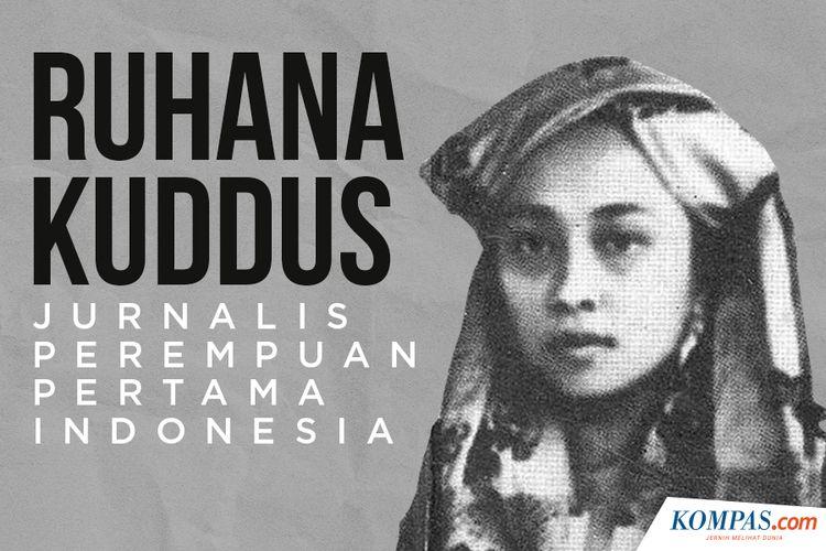 Ruhana Kuddus, Jurnalis Perempuan Pertama Indonesia