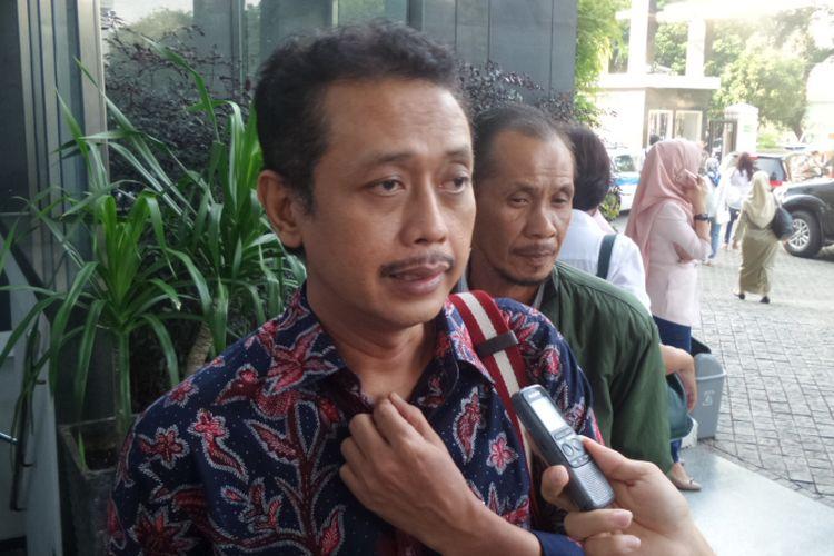 Pejabat Ditjen Pajak, Handang Soekarno, di Pengadilan Tipikor Jakarta, Rabu (14/6/2017).