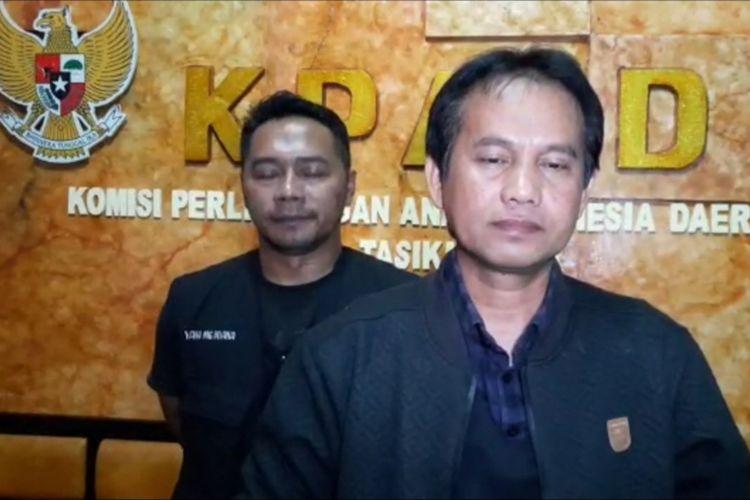 Ketua KPAID Kqbupaten Tasikmalaya Ato Rinanto.