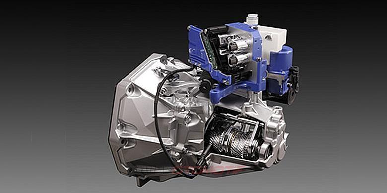 Transmisi manual Suzuki yang dioperasikan secara otomatis (AMT atau AGS