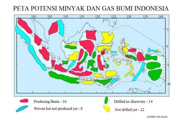 Sumber dan potensi cadangan minyak dan gas bumi Indonesia