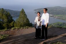 Kunjungi Danau Toba, Jokowi Ingin Tahun Depan Promo Besar-besaran