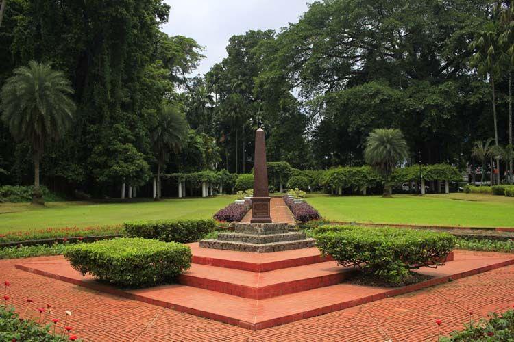 Taman Teijsmann di Kebun Raya Bogor.