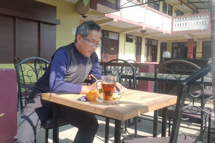Teddy Herianto, warga Banjarmasin, Kalsel yang sempat terjebak lockdown di Nepal lebih banyak menghabiskan waktu di Hotel karena tak bisa kemana-mana.