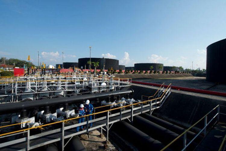 Wilayah kerja (WK Rokan) resmi dialihkelola oleh PT Pertamina Hulu Energi (PHR).