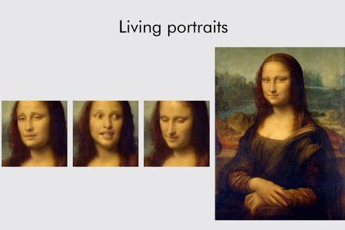 AI Samsung Ciptakan Video Mona Lisa Bergerak dan Membuka Mulut