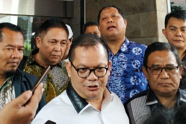 Bupati Kepulauan Talaud terpilih, Elly Engelbert Lasut, di Kantor Kemendagri, Jakarta Pusat, Rabu (15/1/2020).