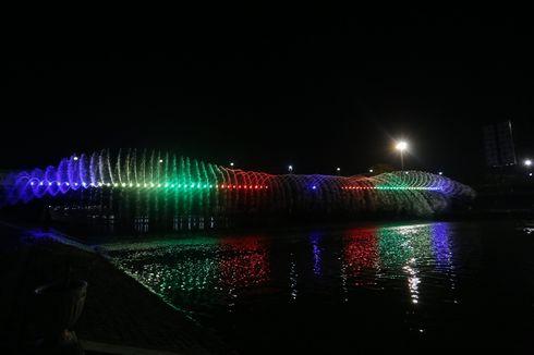 Semarang Bridge Fountain Kembali Aktif, Walkot: Kalau Mau Melihat Silakan tapi...
