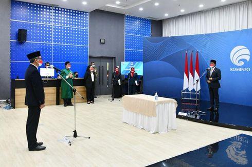 Mantan Direktur Tim Kampanye Jokowi-Ma'ruf Dilantik Jadi Dirjen IKP Kemenkominfo
