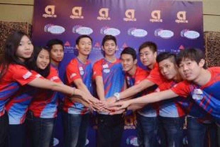 Lee Yong dae dan tim Muar City