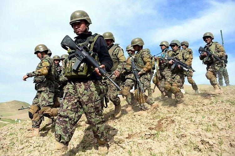 Pasukan militer Afganistan.
