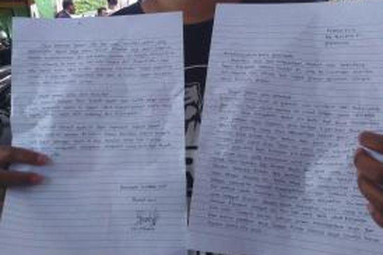 Surat penderita HIV AIDS kepada Presiden baru Joko widodo