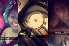 Kecelakaan Parah, Perempuan Ini Malah Buka Snapchat