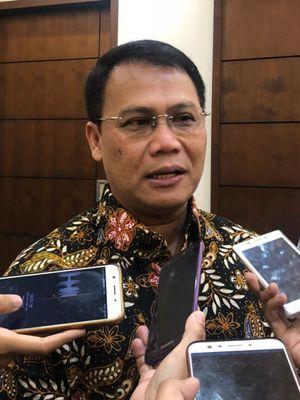 Wakil Ketua MPR Ahmad Basarah di kompleks parlemen, Selasa (13/11/2018).