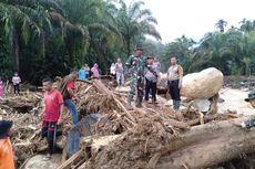 Tim Gabungan Masih Cari 1 Keluarga yang Hilang Terseret Banjir Bandang di Labura