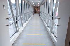 Cegah Penularan Corona, PT Angkasa Pura II Terapkan Social Distancing di Sejumlah Bandara