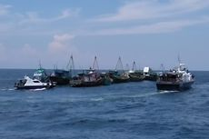 Menteri Susi Tenggelamkan 13 Kapal Nelayan Berbendera Vietnam