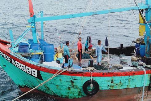 KKP Kembali Tangkap 6 Kapal Ikan Asing di Natuna Utara dan Selat Malaka