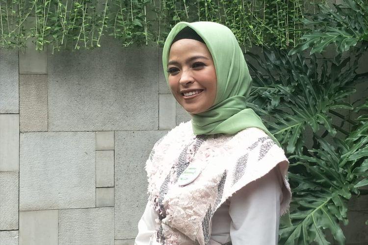 Tantri Kotak saat ditemui di kawasan Menteng, Jakarta Pusat, Jumat (26/4/2019).