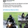 Foto-foto Kostum Batman untuk Robert Pattinson Bocor