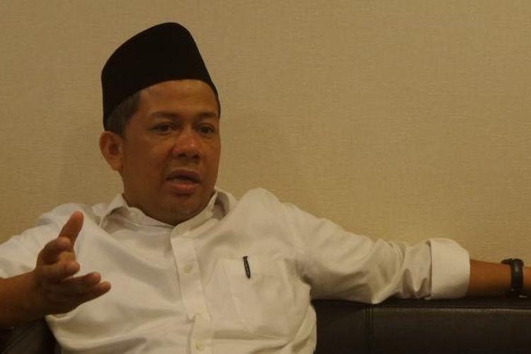 Wakil Ketua DPR RI, Fahri Hamzah di Kompleks Parlemen, Senayan, Jakarta, Jumat (15/7/2016)