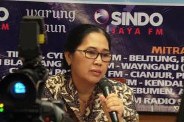 Anggota Komisi III DPR Eva Kusuma Sundari