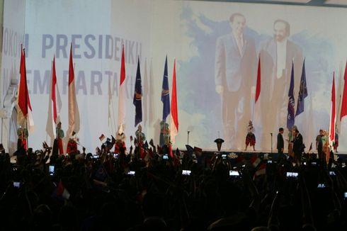Resmi, Nasdem Dukung Jokowi di Pilpres 2019