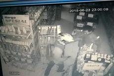 Dari Rekaman CCTV, Perampok Tiga Minimarket Pakai Helm dan Masker