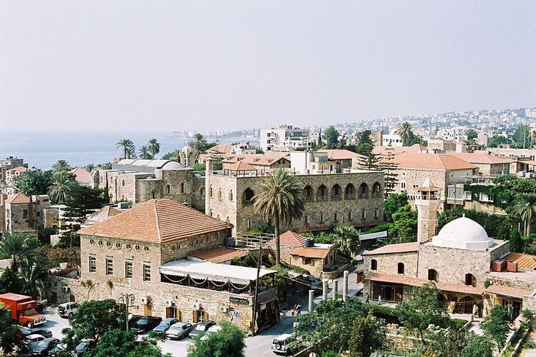 Kota tua Byblos di Lebanon.