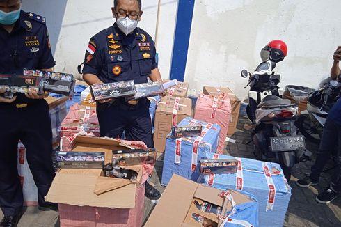 Beragam Modus Penyelundupan Rokok Ilegal untuk Kelabui Petugas Bea Cukai di Lampung