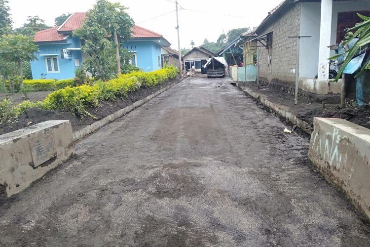 Kondisi daerah terdampak banjir banjang Bondowoso sudah mulai pulih, lumpur sudah mulai bersih dari ruas jalan dan rumah warga