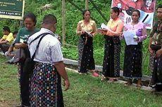 Kaum Perempuan Demo Tolak Pertambangan di Manggarai Barat