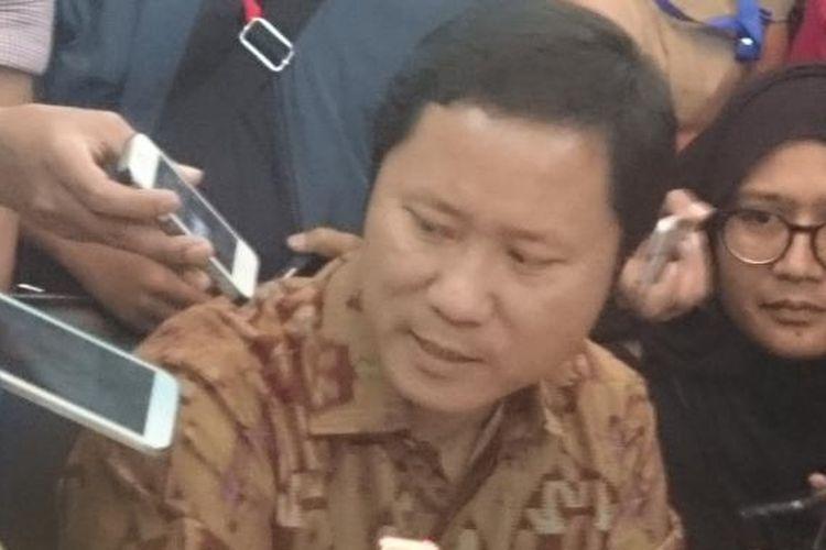 Direktur Utama Blue Bird Sigit Priawan Djokosoetomo, Jumat (18/3/2016)