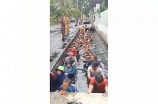Viral, PPSU Jelambar Disuruh Berendam di Saluran Air untuk Perpanjang Kontrak