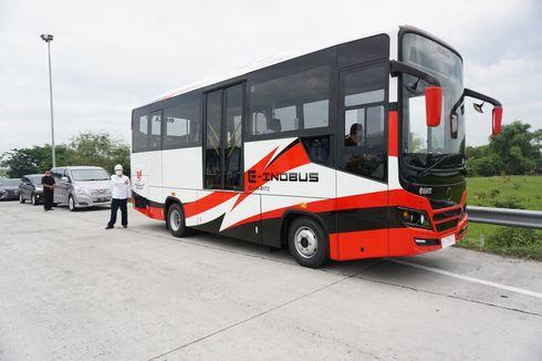 Lebih Dekat dengan Bus Listrik INKA yang Sedang Diuji Coba