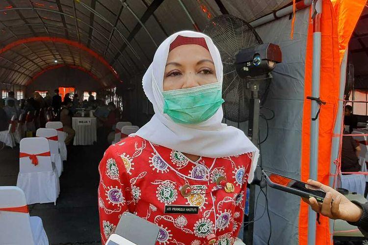 Kepala Dinas Kesehatan Banten dr Ati Pramudji Hastuti